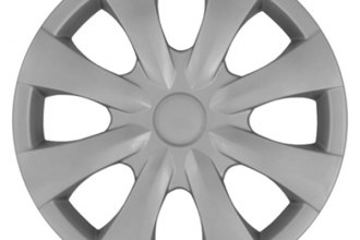 "CCI® IWC45015S - 15"" 8 Flare Spokes Silver Wheel Covers"