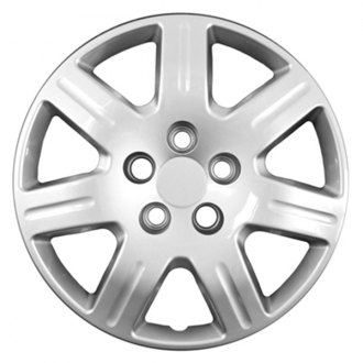 "CCI® - 16"" 7 Spokes Silver Wheel Cover Set"
