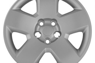 "CCI® - 17"" 5 Spokes Silver Wheel Covers with Lug Covers"
