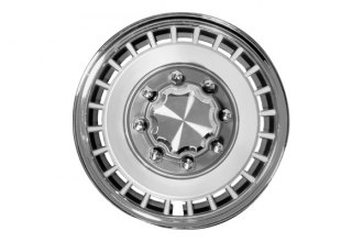 "CCI® - Universal 16"" 24 Vents Deep Hub Chrome Silver Wheel Covers"