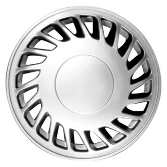 "CCI IWC52S15 - 15"" 20 Slots Silver Wheel Cover Set"