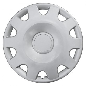 "CCI® - 15"" 10 Vents Silver Wheel Covers"
