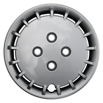 "CCI® - 14"" 17 Slots Silver Aftermarket Wheel Covers"