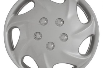 "CCI® - 15"" 7 Directional Vents Silver Wheel Covers"