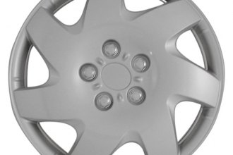 "CCI® - 15"" 7 Directional Vents Silver Aftermarket Wheel Covers"