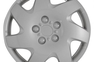"CCI® - Universal 16"" 7 Directional Vents Silver Wheel Covers"
