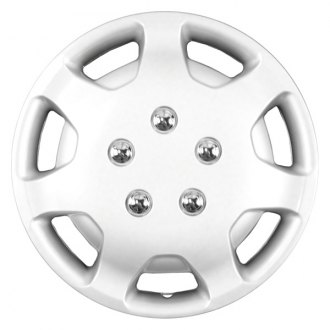 "CCI® - 14"" 7 Spokes Silver Wheel Cover Set"