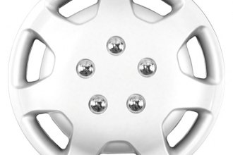 "CCI® - 14"" 7 Spokes Silver Wheel Covers"