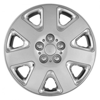 "CCI® - 15"" 7 Wide Spokes Chrome Wheel Covers"