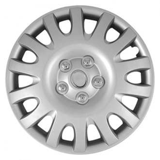 "CCI® - 16"" 14 Multi-Vents Silver Wheel Cover Set"