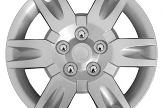 "CCI® - Universal 16"" 6 Spokes with Depression Silver Wheel Covers"