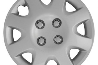 "CCI® - 15"" 8 Spokes 8 Vents Silver Aftermarket Wheel Covers"