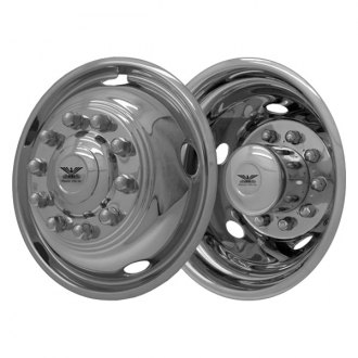 "CCI® - 19.5"" 5 Hand Holes Chrome Wheel Simulator Set"