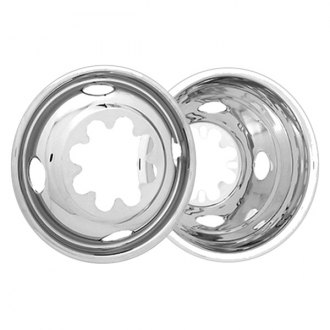 "CCI® - 16"" 4 Hand Holes Polished Stainless Steel Wheel Simulator Set"