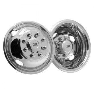 "CCI® - 17"" 4 Hand Holes Polished Stainless Steel Wheel Simulator Set"