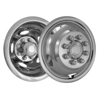 "CCI® - 17"" 5 Hand Holes Polished Stainless Steel Wheel Simulator Set"