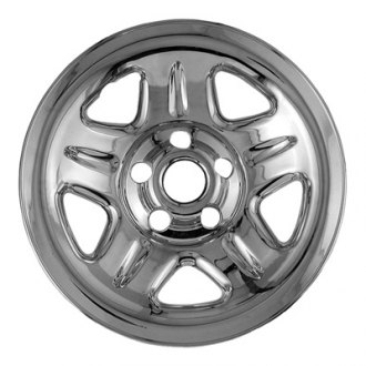 "CCI® - 15"" 5 Dimple Spokes Chrome Impostor Wheel Skin Set"