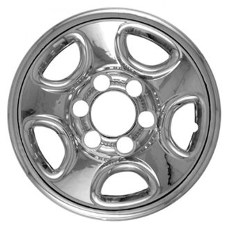 "CCI® - 16"" Chrome Impostor Wheel Skin Set"