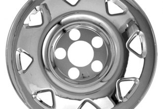 "CCI® - 15"" 8 Triangle Openings Triple Chrome Plated Impostor Wheel Skin Set"