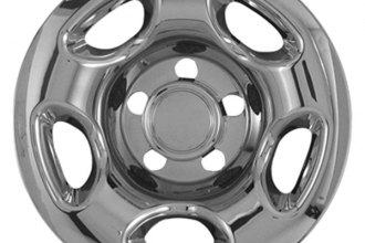 "CCI® - 16"" 5 Rounded Triangles Chrome Impostor Wheel Skins"