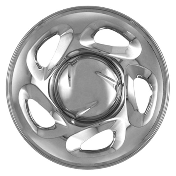 "CCI® - 16"" 5 Directional Openings Chrome Impostor Wheel Skin Set"