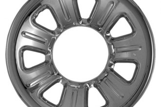 "CCI® - 15"" 7 Dimpled Spokes Chrome Impostor Wheel Skins"