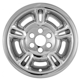 "CCI® - 15"" 5 Split Spokes Chrome Impostor Wheel Skin Set"