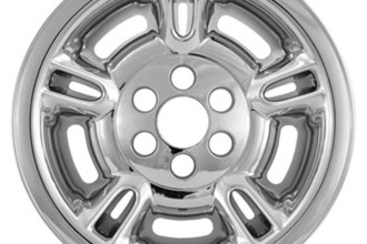 "CCI® - 15"" 5 Split Spokes Chrome Impostor Wheel Skins"