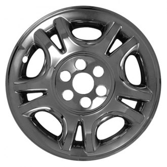"CCI® - 16"" 5 Split Spokes Chrome Impostor Wheel Skin Set"