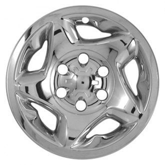"CCI® - 16"" 5 Star Directional Chrome Impostor Wheel Skin Set"