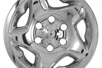 "CCI® - 16"" 5 Star Directional Chrome Impostor Wheel Skins"