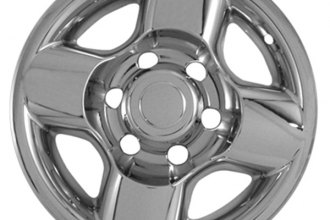 "CCI® - 16"" 4 Rounded Spokes Chrome Impostor Wheel Skins"