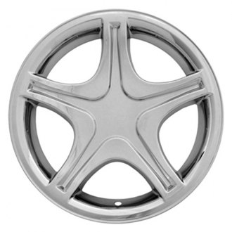 "CCI® - 17"" 5 Star with Indent Chrome Impostor Wheel Skins"