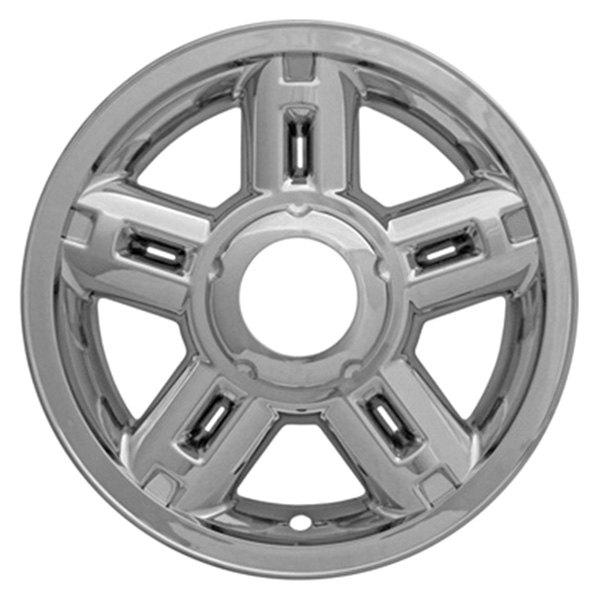 "CCI® - 16"" 5 Rounded Triangles Chrome Impostor Wheel Skin Set"