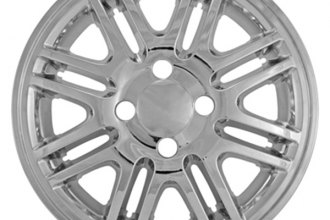 "CCI® - 15"" 8 Double Spokes Chrome Impostor Wheel Skins"