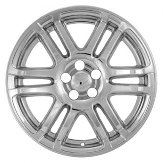 "CCI® - 17"" 6 Split Spokes Chrome Impostor Wheel Skin Set"