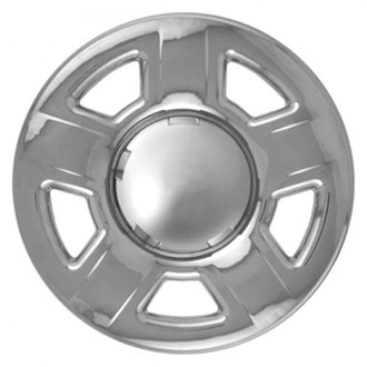 "CCI® - 15"" 5 Dimpled Spokes Chrome Impostor Wheel Skin Set"