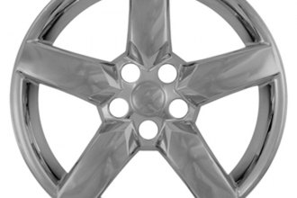 "CCI® - 19"" 5 Spokes Chrome Impostor Wheel Skins"