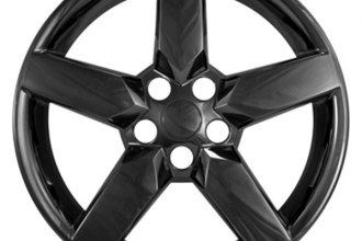 "CCI® - 19"" Black Chrome Impostor Wheel Skins"