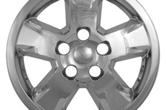 "CCI® - 17"" 5 Spokes Chrome Impostor Wheel Skins"