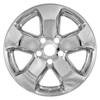 CCI® - 5 Spokes Chrome Impostor Wheel Skin Set