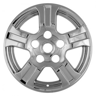 "CCI® - 18"" 5 Spokes Chrome Impostor Wheel Skins"