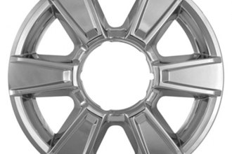"CCI® - 17"" Chrome Impostor Wheel Skins"