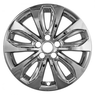 "CCI® - 18"" 5 Split Spokes Chrome Impostor Wheel Skins"