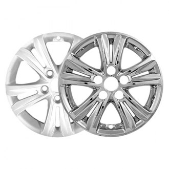 "CCI® - 16"" 5 Split Spokes Chrome Impostor Wheel Skins"