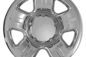 "CCI® - 16"" Triple Chrome Plated Impostor Wheel Skins"