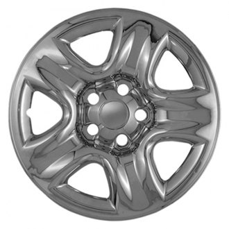 "CCI® - 16"" 5 Dimpled Spokes Triple Chrome Plated Impostor Wheel Skin Set"