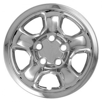 "CCI® - 17"" 5 Spokes Triple Chrome Plated Impostor Wheel Skins"