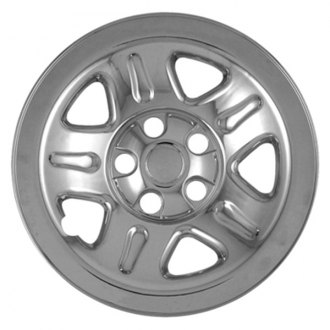"CCI® - 15"" Triple Chrome Plated Impostor Wheel Skin Set"