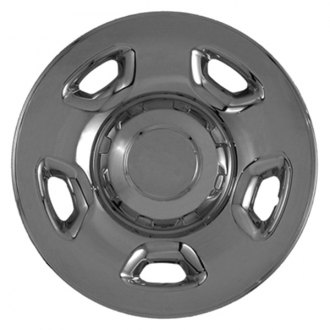 "CCI® - 17"" 5 Flat Spokes Triple Chrome Plated Impostor Wheel Skin Set"